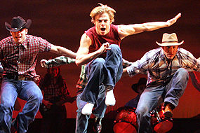 Derek Jumping in Footloose