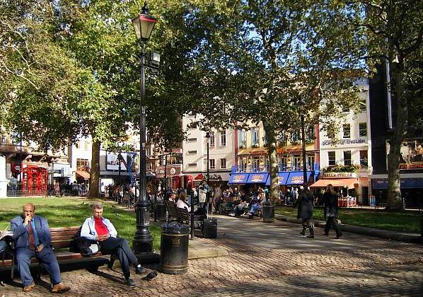 Leicester Square, London. Education. While in the UK, Derek attended a very