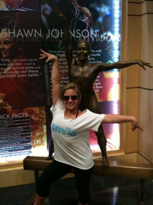 Shawn Johnson in Iowa