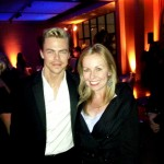 Derek Hough and Kristyn Burtt