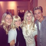 Derek Hough and his sisters