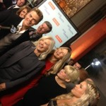 Derek and Family at Safe Haven Premiere