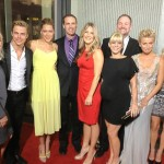 Derek and Family at Safe Haven Premiere 2