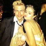 Derek Hough Selena Gomez Vanity Fair Party