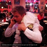 Derek Hough at Chuy's in Franklin TN