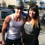 Derek with Fan before DWTS 16 Week 2 2
