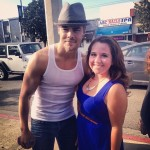 Derek with Fan before DWTS 16 Week 2 3