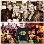 Tony Dovolani Marabeth Poole Kellie Pickler and Derek Hough at Losers in Nashville