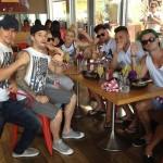 Derek, Mark and Friends in Malibu
