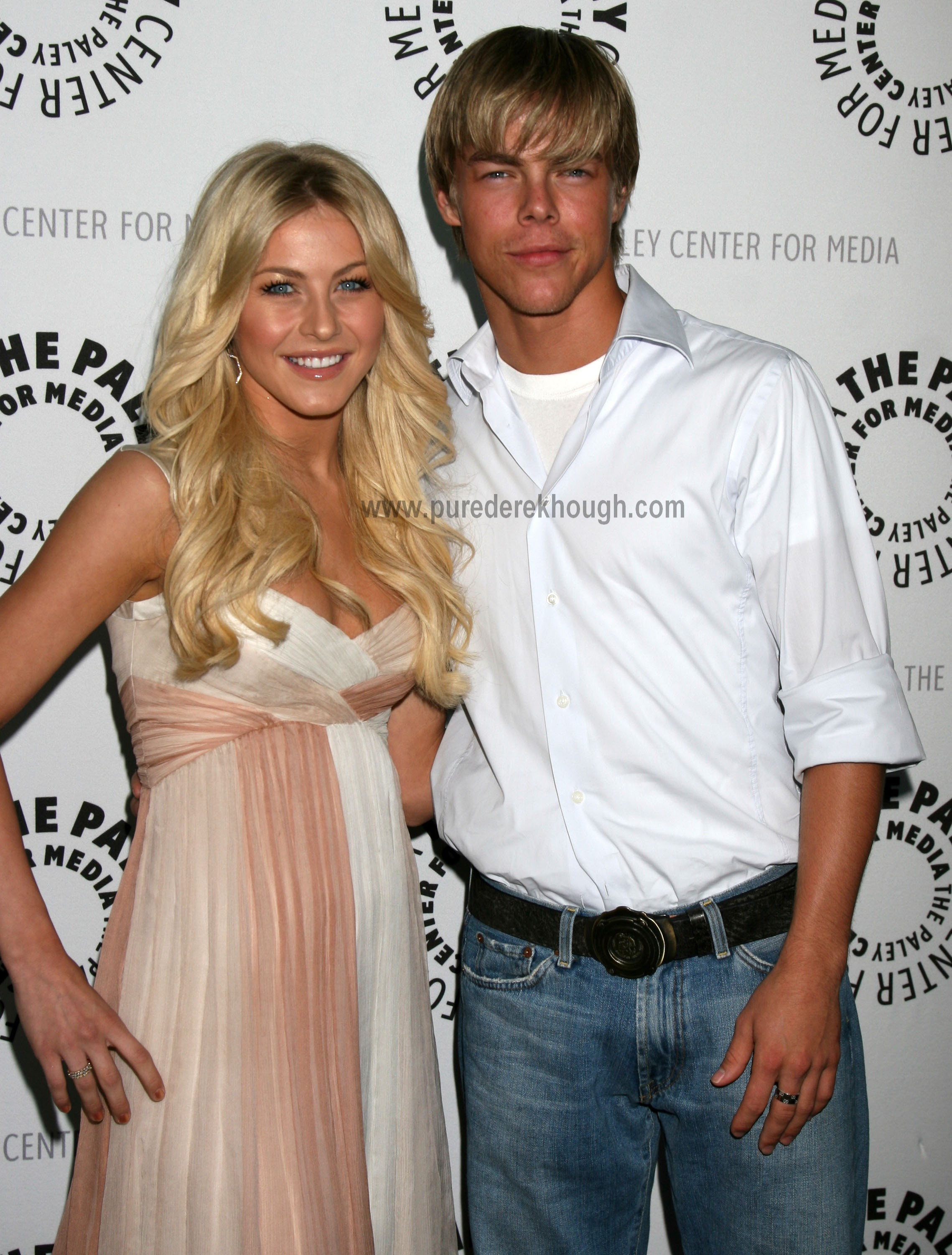 Julianne Hough and brother Derek Hough