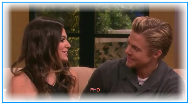 Bethany Mota and Derek Hough