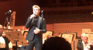Derek Hough at the California Philharmonic