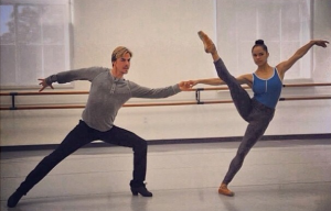 From Derek's Instagram: Misty Copeland
