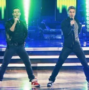Derek Hough and Mark Ballas on Dancing With the Stars