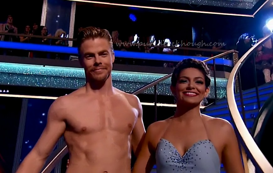 dwts 19 week 10 bethany and derek dating