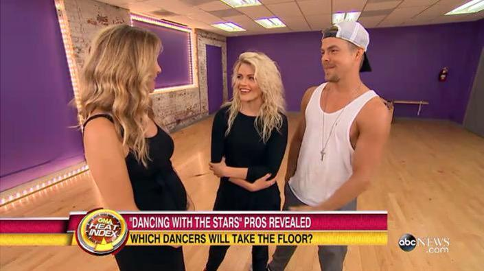 Couples Hookup On Dancing With The Stars