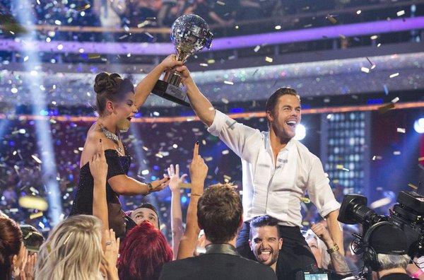 Derek and Bindi Win