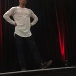 Derek Hough at OSU by Abby
