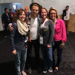 Derek Hough at the Super Bowl by mpiscetta