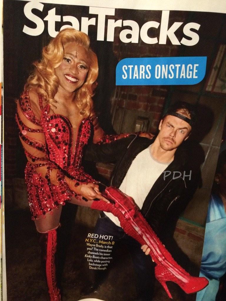 Derek Hough Wayne Brady People Magazine