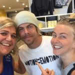Derek and Julianne Hough and Move Event July 24, 2016 courtesy of Andrea