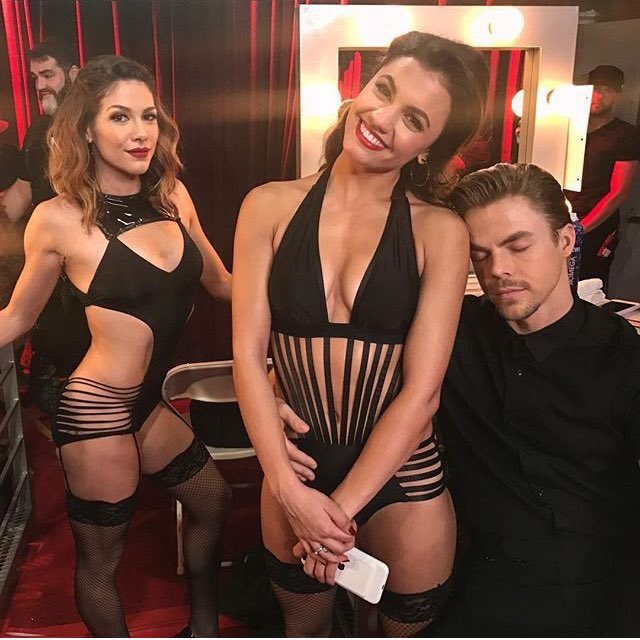 DWTS Week 8 Derek Hough Returns and Gives an Update on His Injury