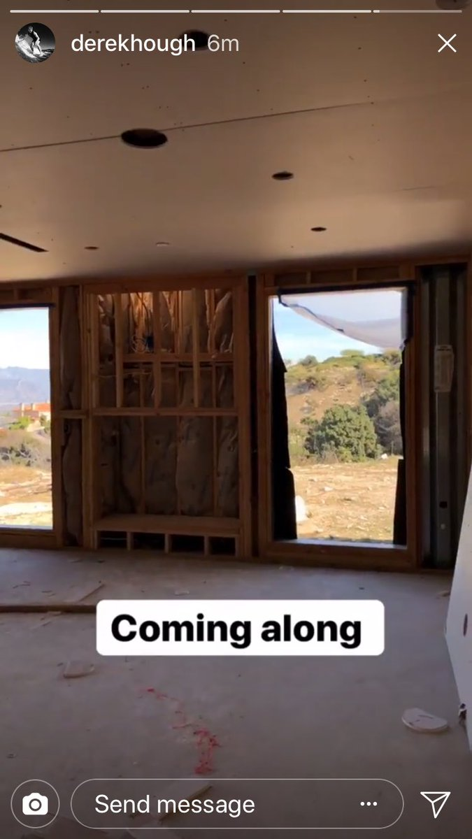39 s house getting built by jennie pure derek hough for Get a home built
